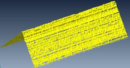 : Konfokale Messung einer Schneidkante