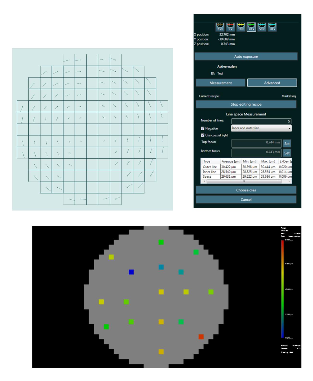 Automatisierte Messungen für Messaufgaben