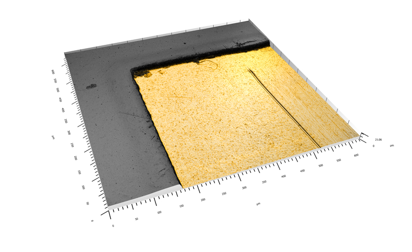 Measure MEMS surfaces with Confovis